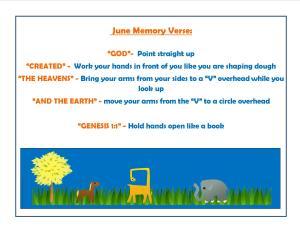 June Memory Verse Motions - 1