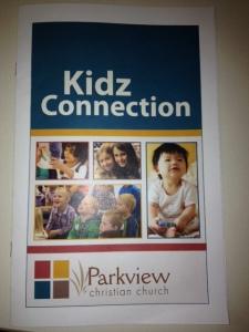 Kidz Connection Brochure