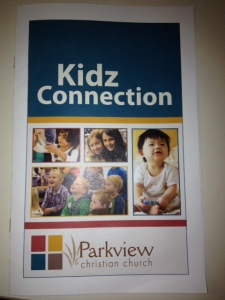 Kidz Connection Brochure