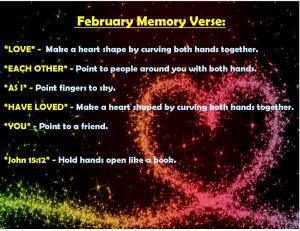 February Memory Verse Motions - Blog