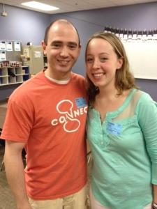 Mike McPhail and Stefanie Daniels