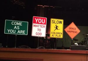 signs at Parkview