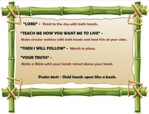 VBS -  Memory Verse Motions 2014 - Blog