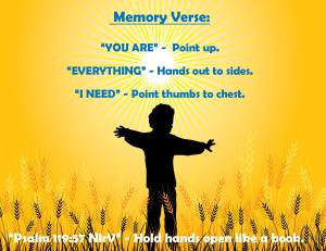 January 2015 Memory Verse Motions - Blog