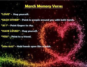 March 2015 Memory Verse Motions - Blog