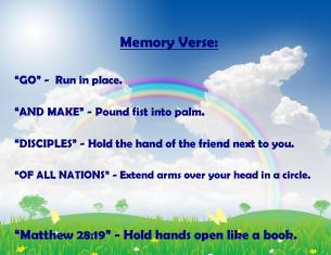 April 2015 Memory Verse Motions - BLOG