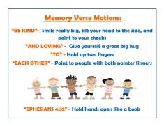 May 2015 Memory Verse Motions - Blog